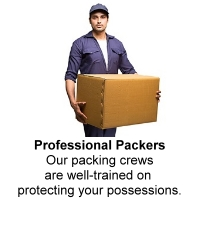 Well trained Packing crew